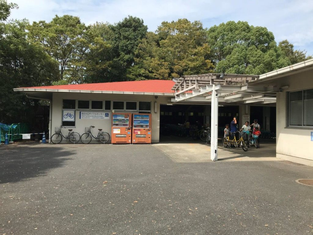 西立川口サイクルセンター全景