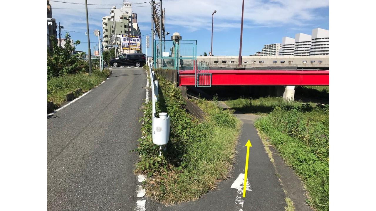 大和田橋くぐる道