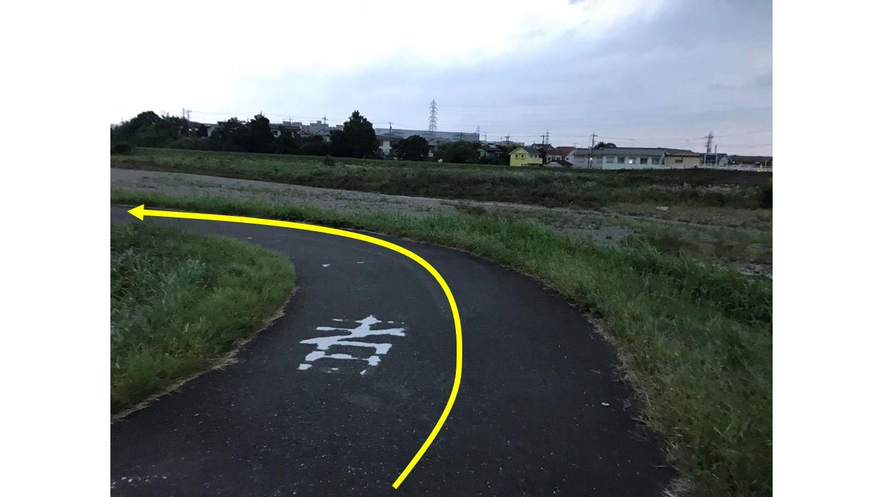 栄橋後ヘアピンカーブ