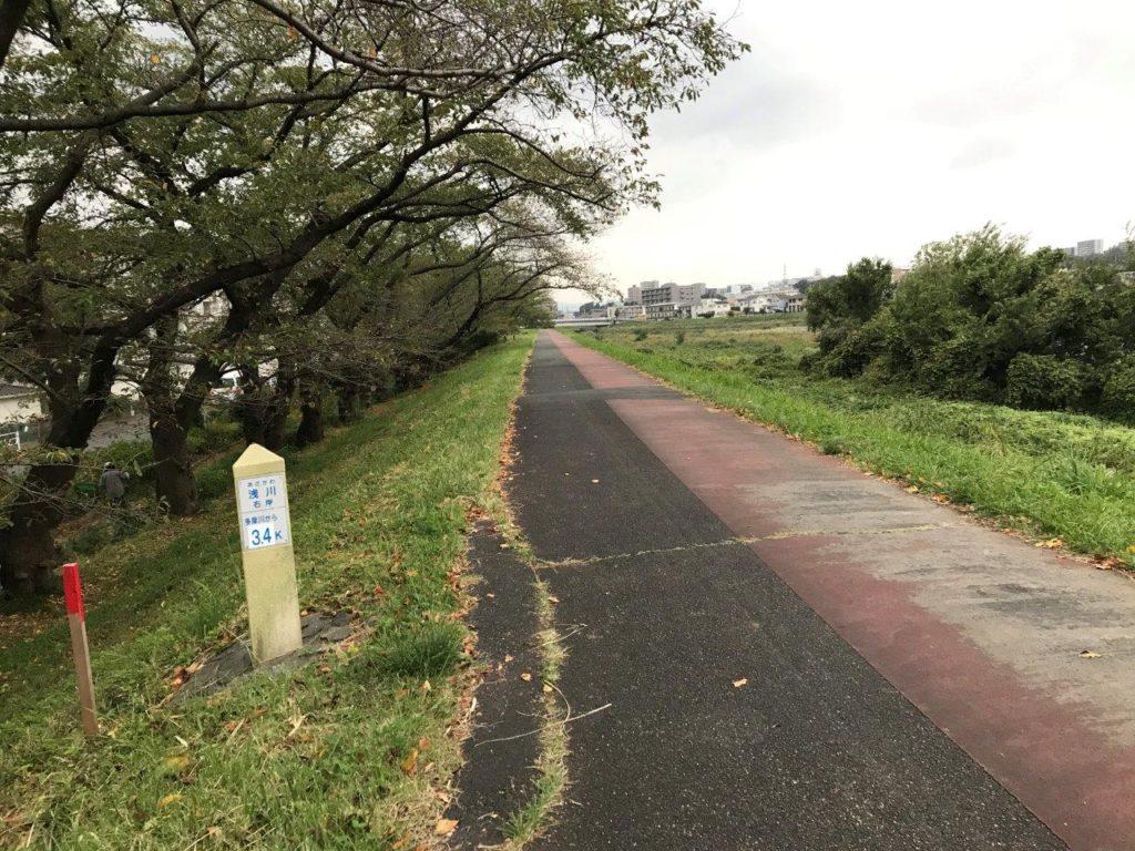 浅川右岸3.4k地点