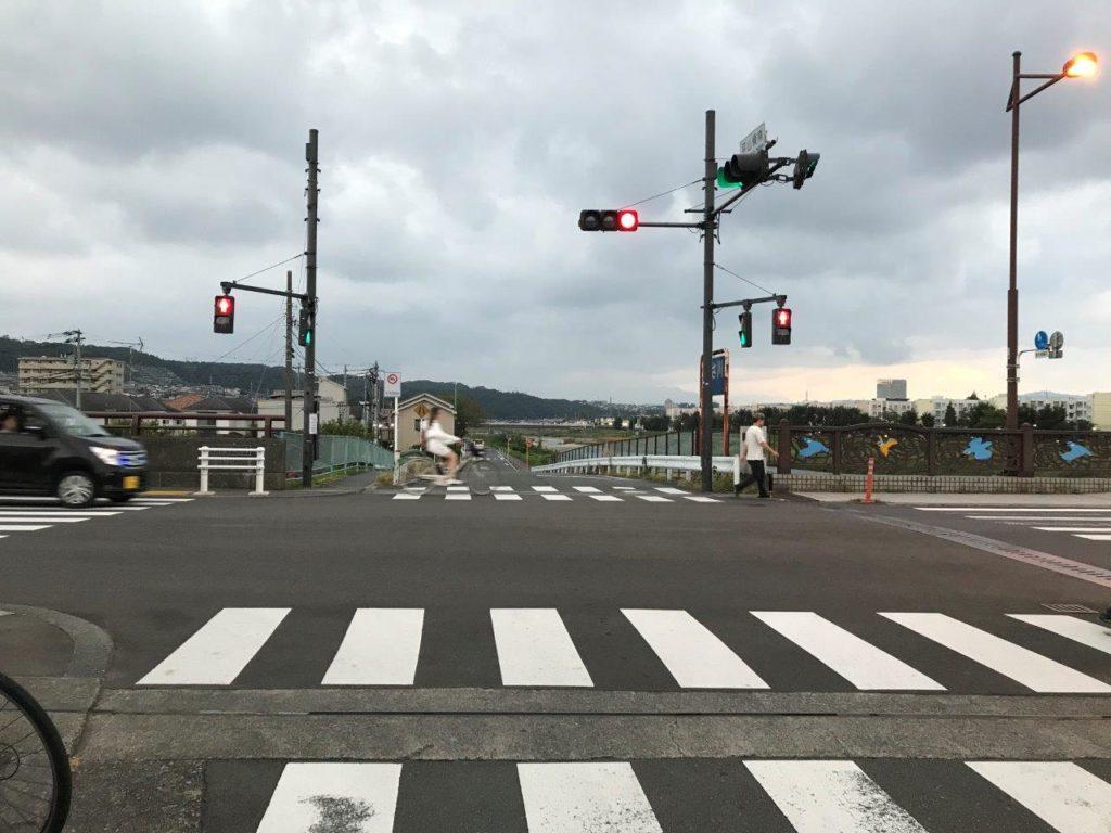 平山橋交差点