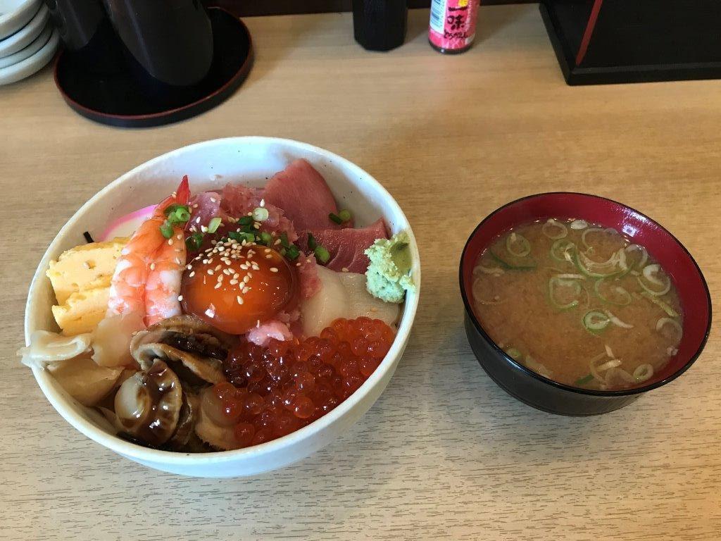 本日のおすすめ丼2019.10.05