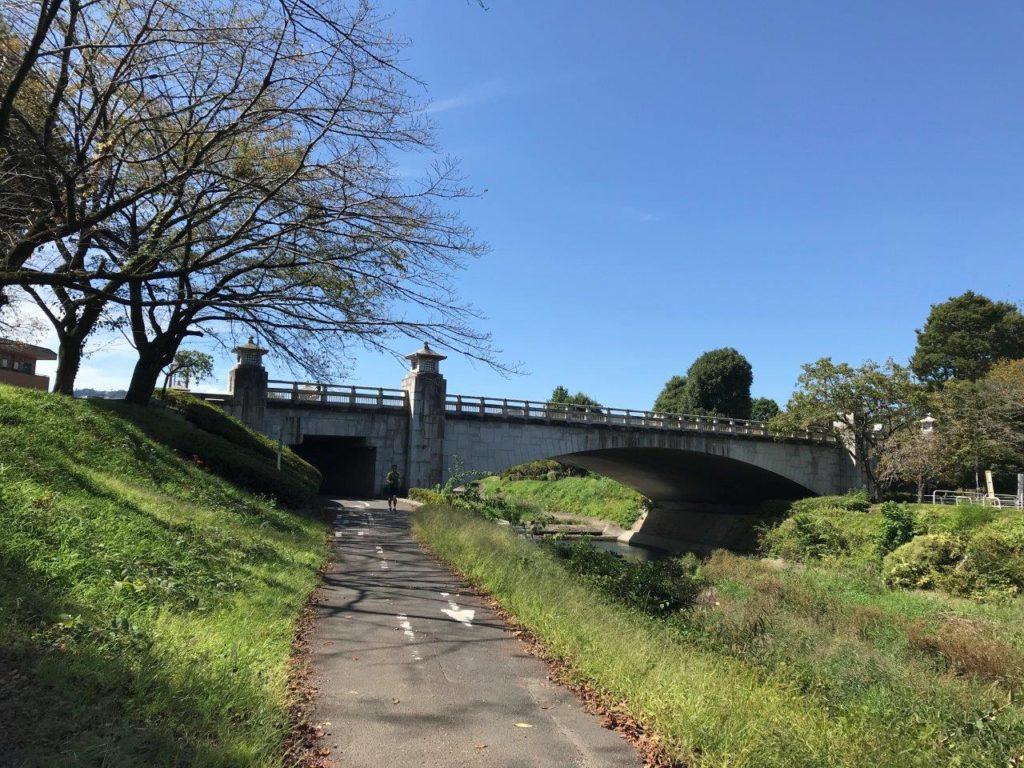 南浅川橋手前