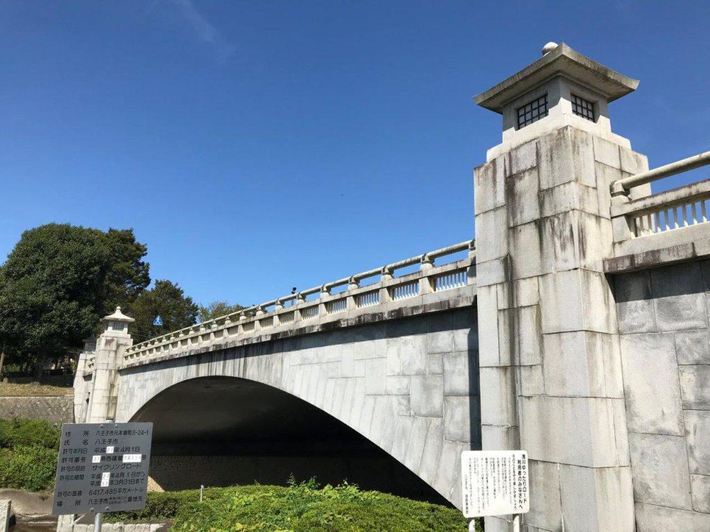 南浅川橋上流側から