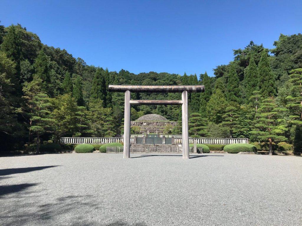 武蔵野陵全景
