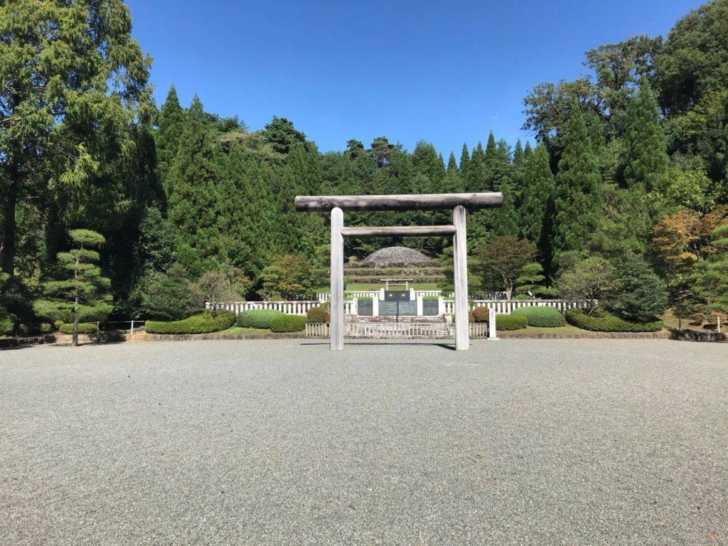 武蔵東陵全景