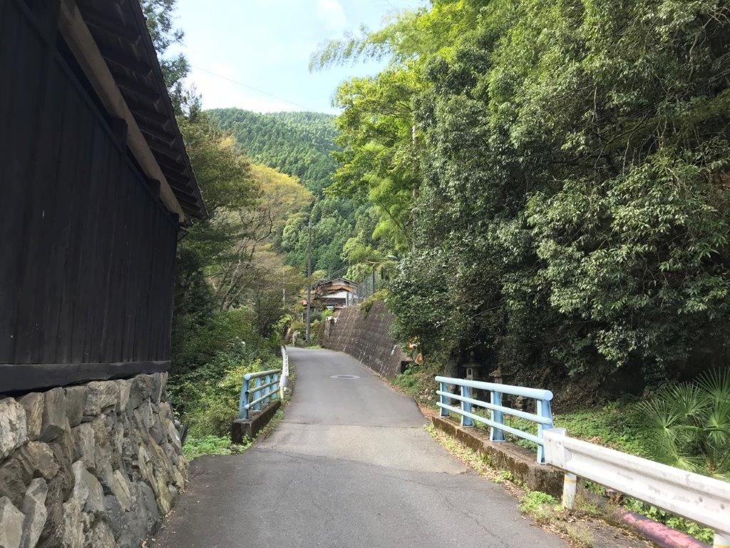 和田峠入口付近