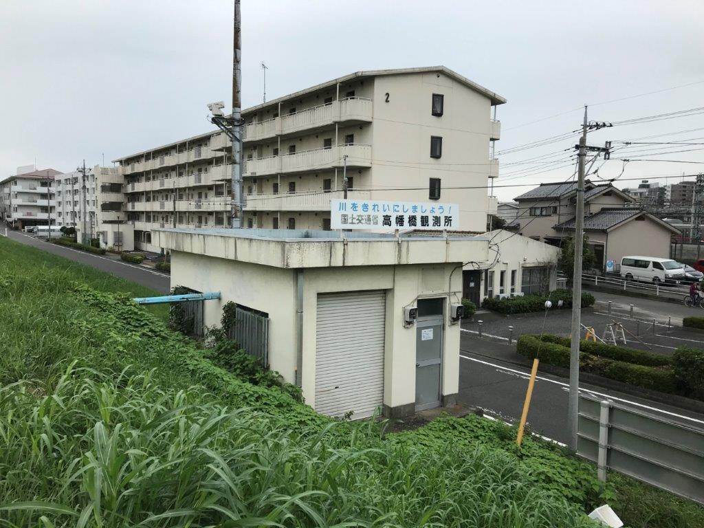 高幡橋観測所付近
