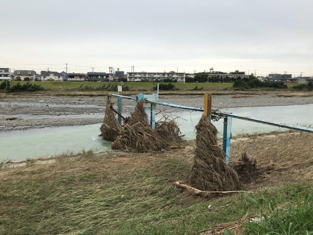 高幡橋観測所水位計
