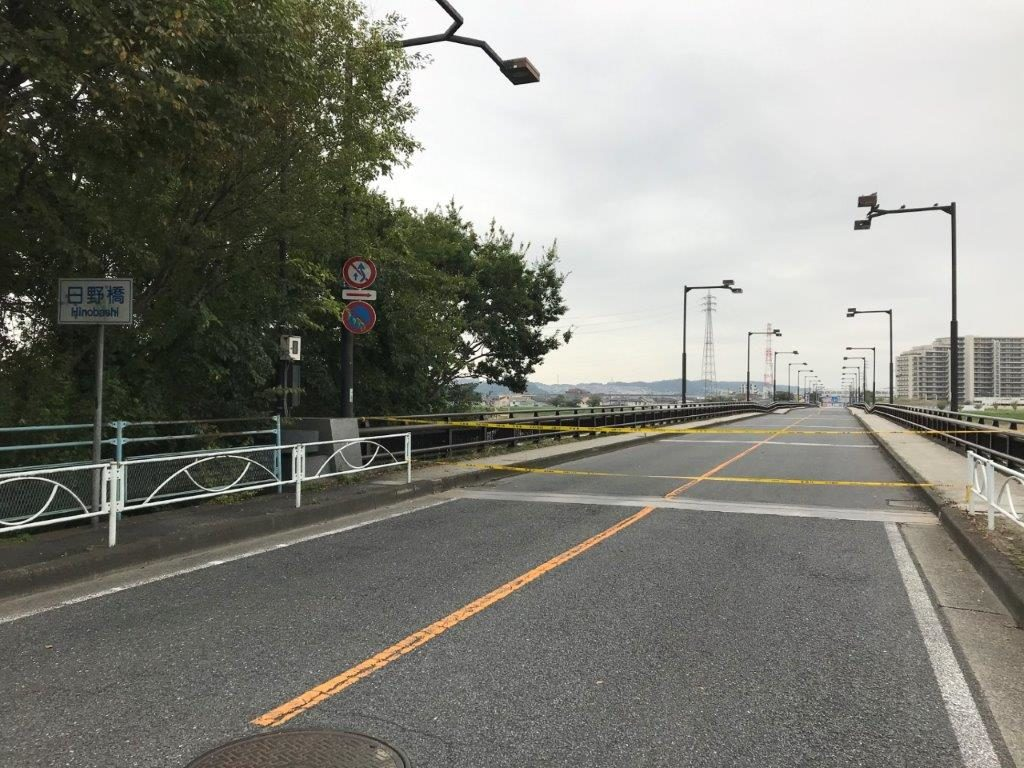 日野橋故障状況