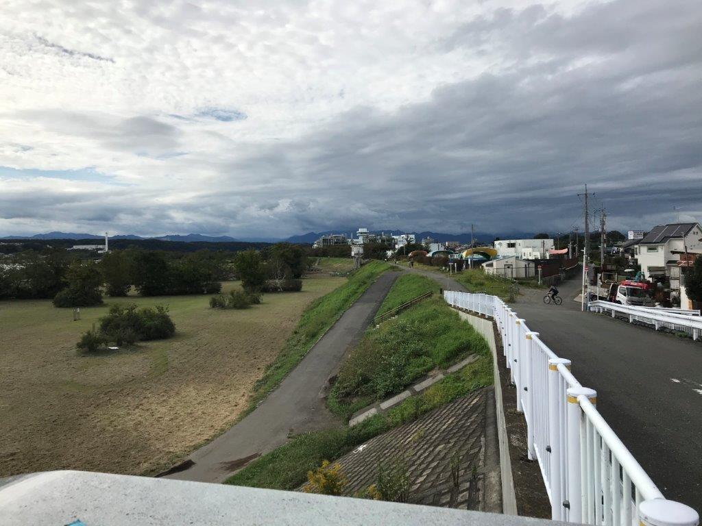 多摩大橋から眺める風景