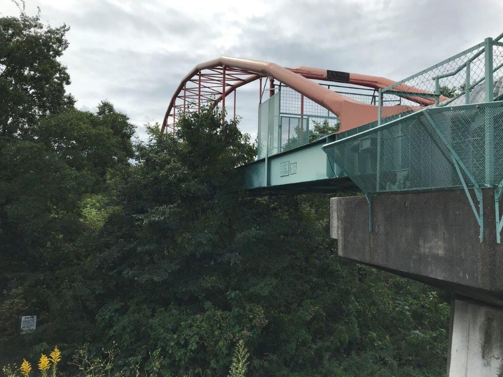 多摩川サイクリングロード水道橋