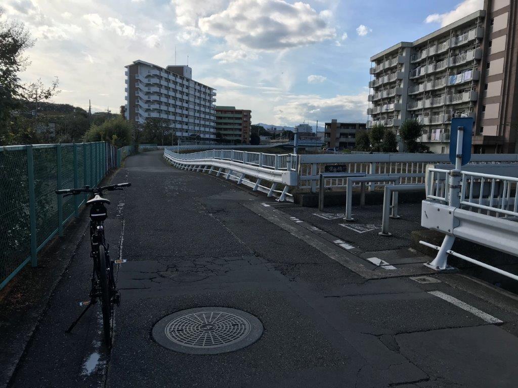 スタート地点「栄橋」