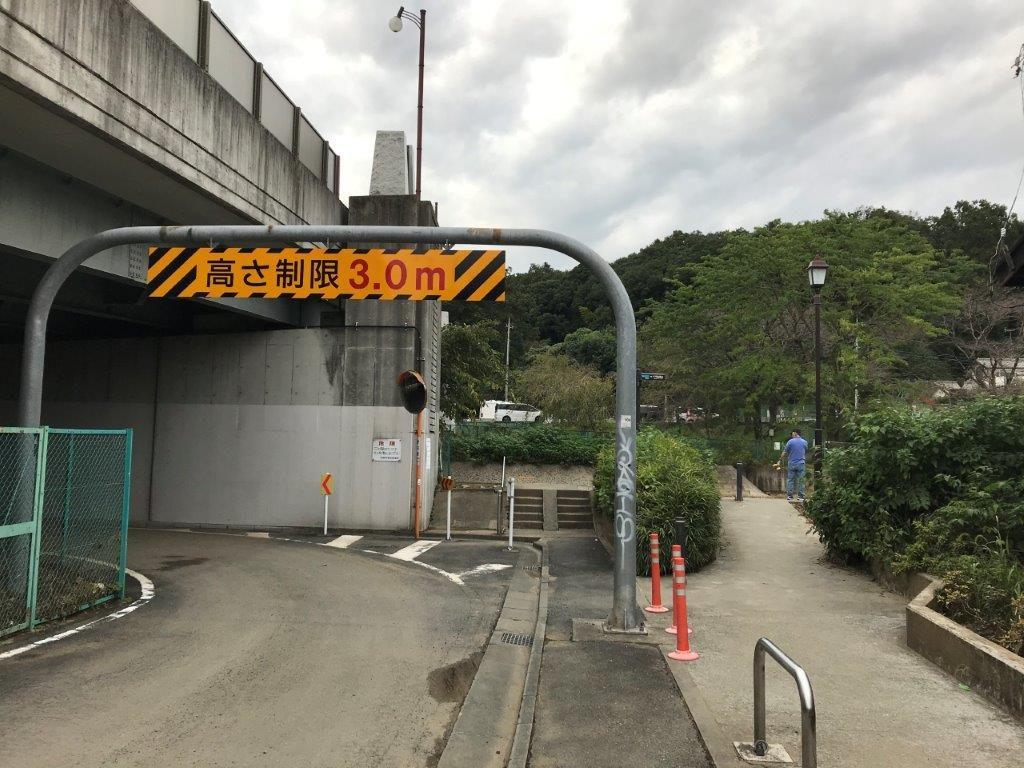 浅川サイクリングロード入口