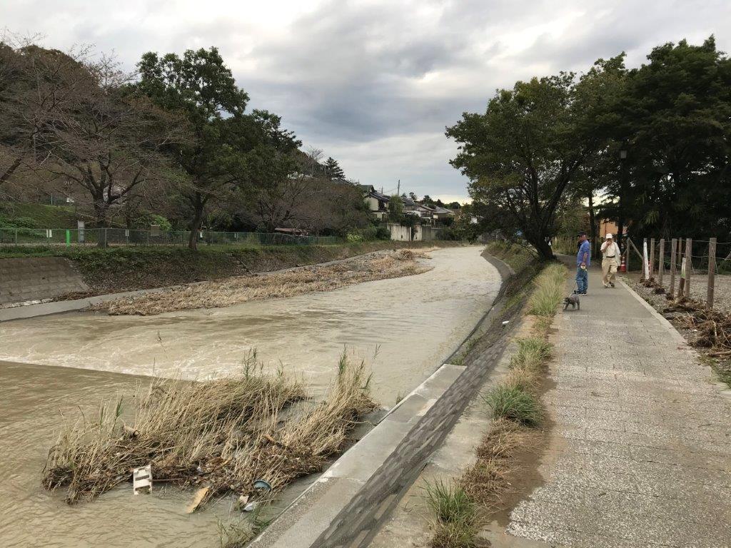 浅川サイクリングロードスタート地点