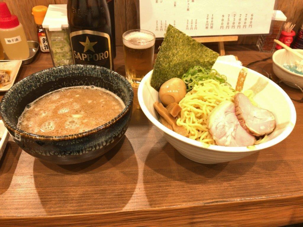ピリ辛つけ麺2019.11.08