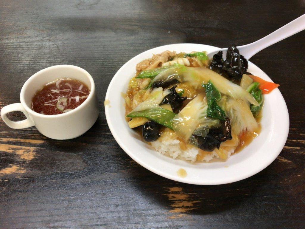 中華丼2019.12.01