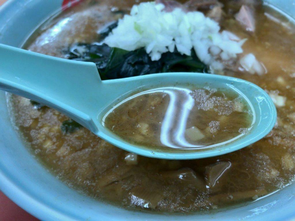 プレミアム醤油とんこつスープ