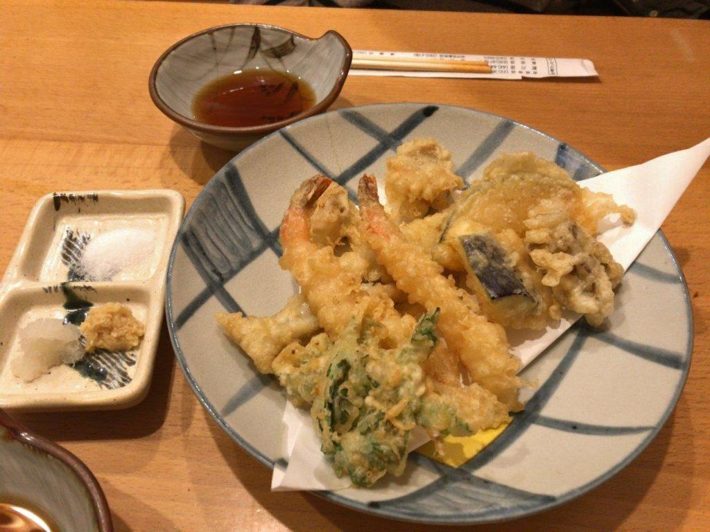 天ぷら盛り合わせ2020.01.10
