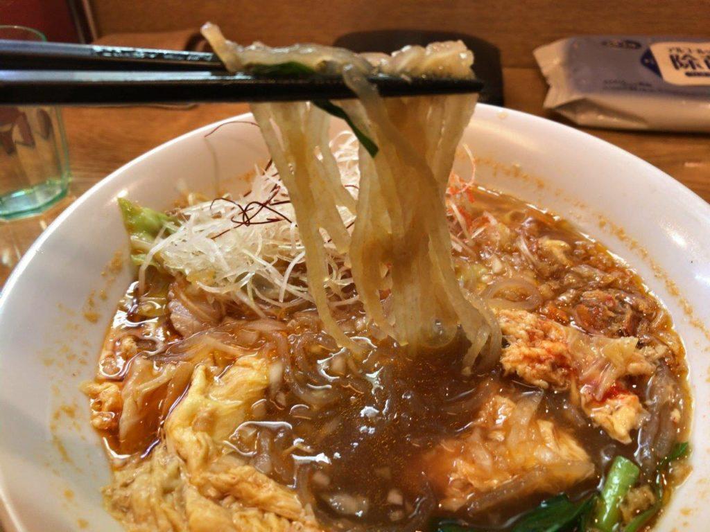 辛いラーメン麺リフト2020.01.12