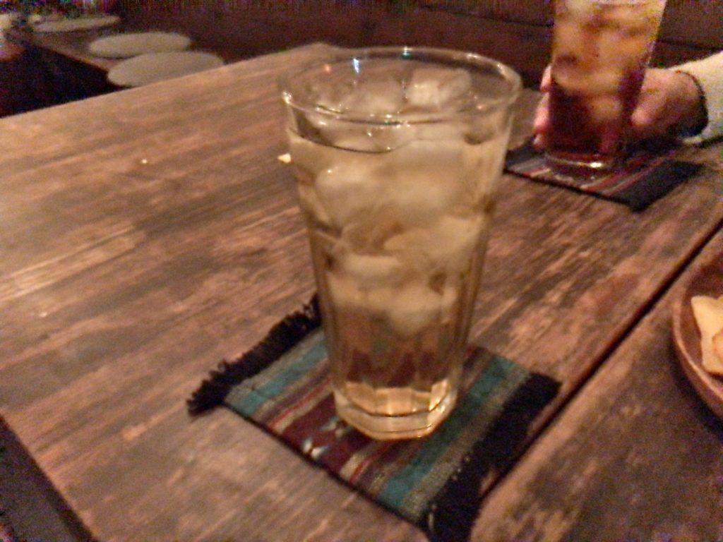 ウィスキー水割り2020.01.13