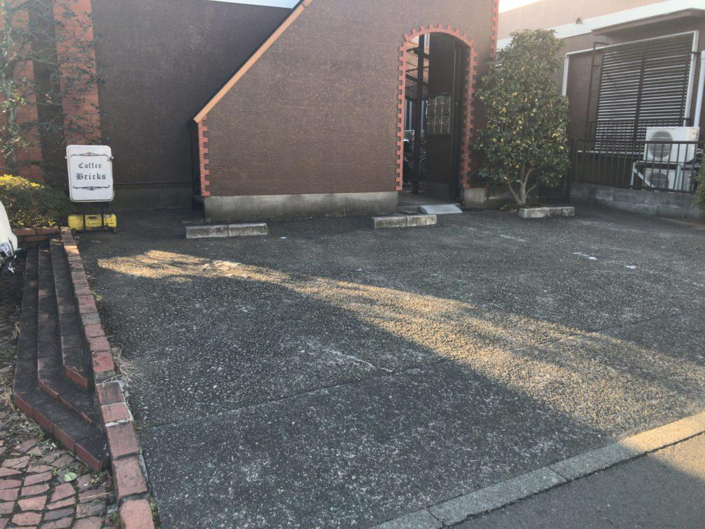 bricks駐車場