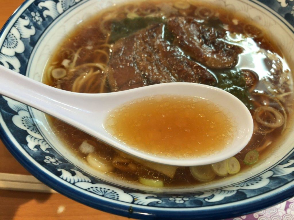 角煮らーめんのスープ2020.01.26