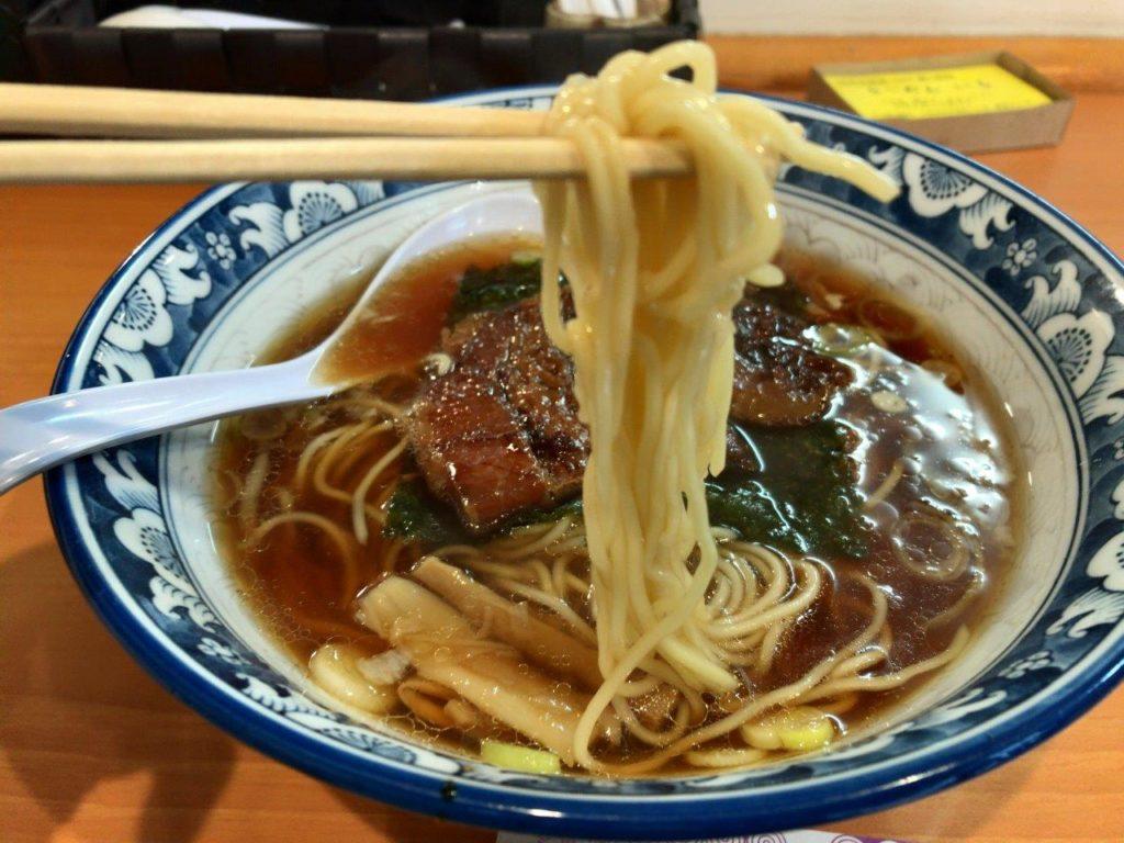 角煮らーめんの麺2020.01.26