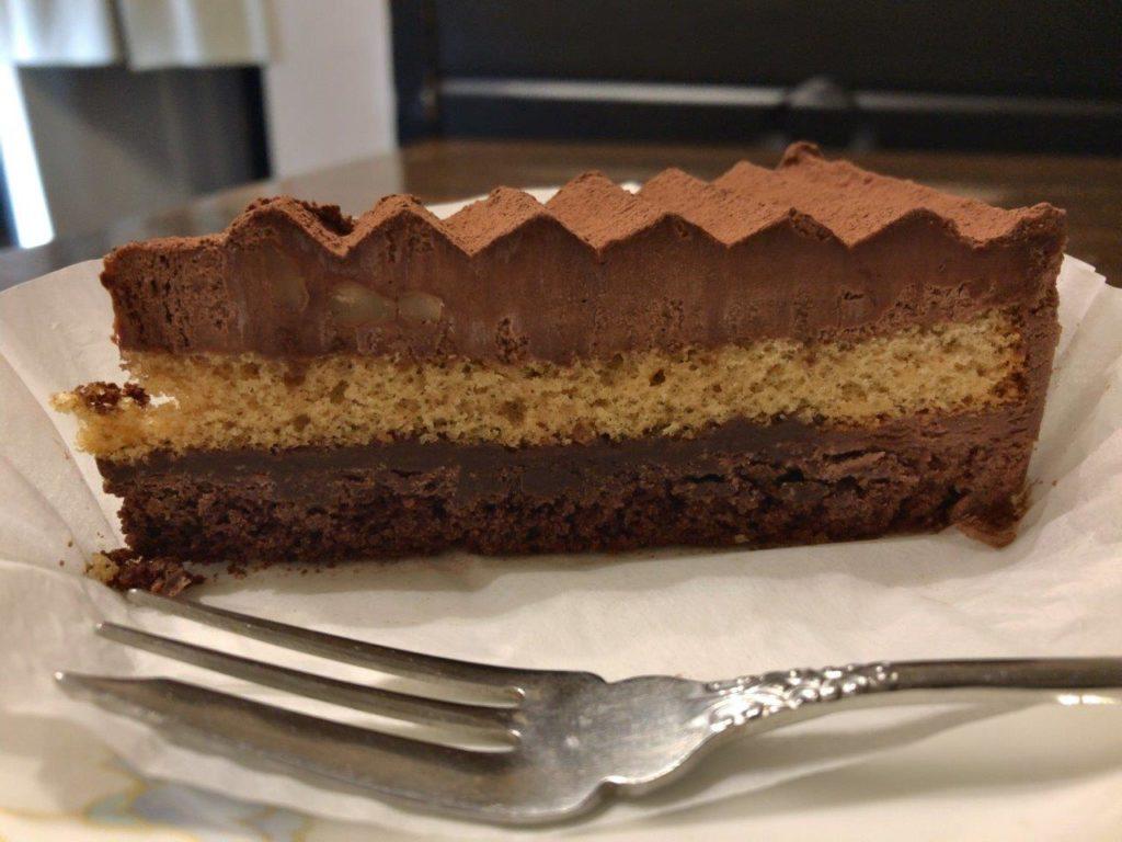 チョコレートケーキ断面2020.02.02