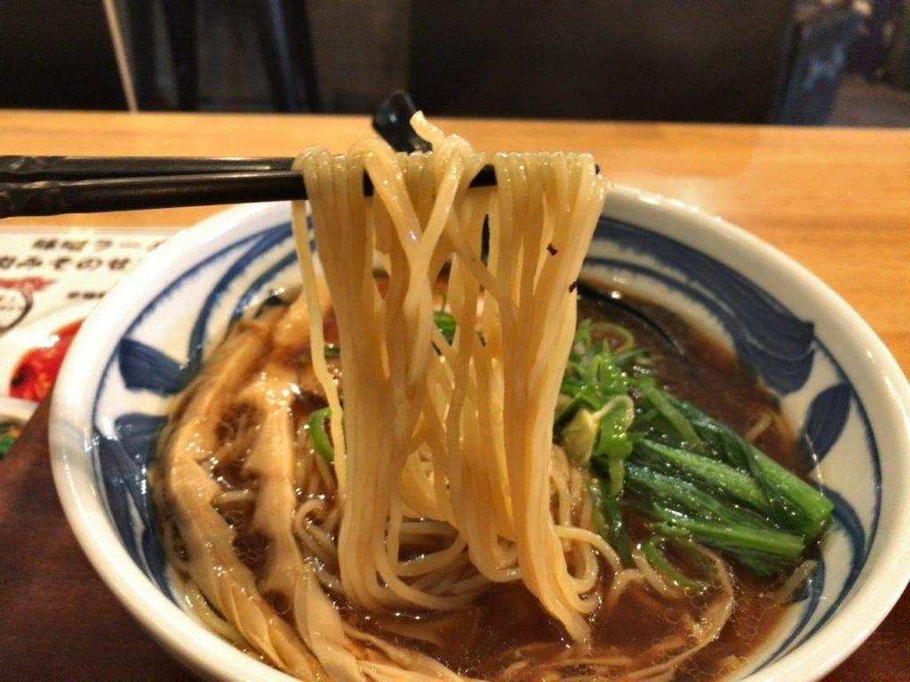 醤油らーめん麺2020.02.07